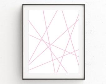 Minimalist Wall Art, Pink Wall Art, Printable Artwork, Printable Poster, Scandinavian Poster, Minimalist Art, Wall Art, Printable Art Prints