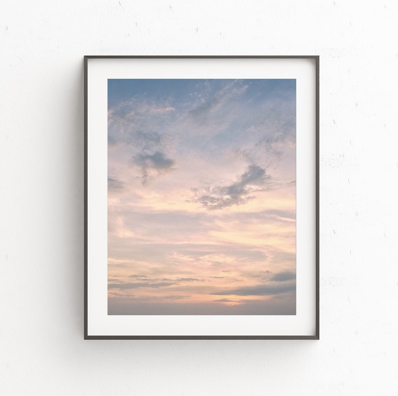 Cloud Photography  Skyscape Art  Clouds Print  Sky Poster image 0