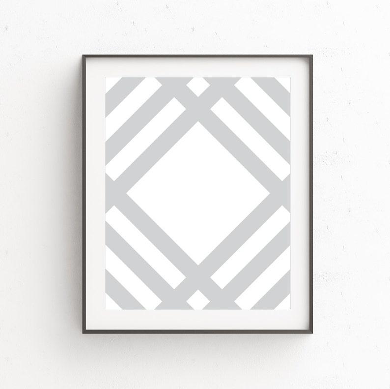 Geometric Wall Art Geometric Print Scandinavian Art image 0