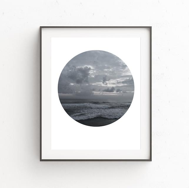 landscape print beach cottage decor printable wall art etsy rh etsy com
