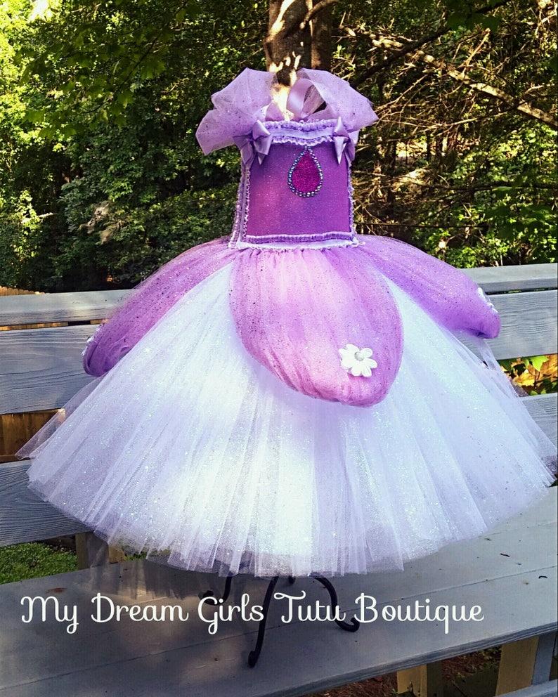 f2b26c8fea Sofia the first dress Sofia the 1st gown Princess Sofia tutu | Etsy