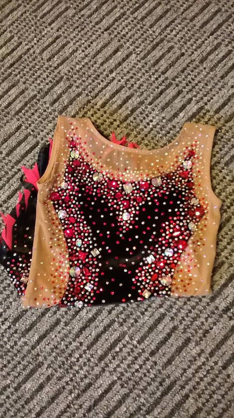 Made To Measure RHYTHMIC GYMNASTICS Leotard Kids Dancewear  ca4a2eb0c7e