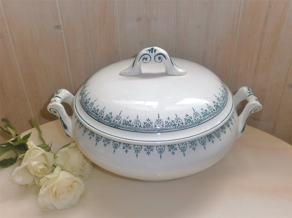 Antique French 1900/'s tureen made by St Amand France