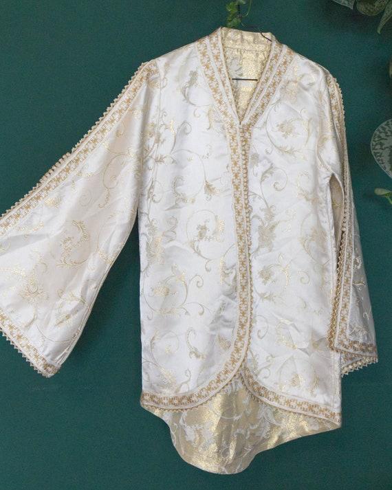Handmade Vintage Chinese Jacquard Jacket