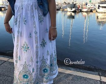 Gypsy skirts, maxi skirt, boho skirt, hippie dress, hippie skirt, long skirt, full skirt