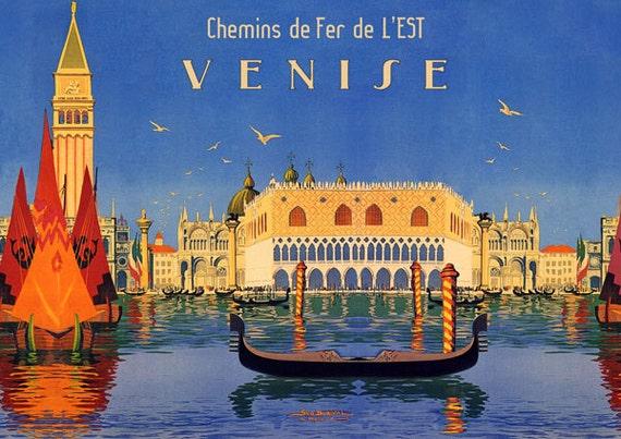 Mermaid Siren Boat Florida Travel Tourism Europe Vintage Poster Repro FREE S//H