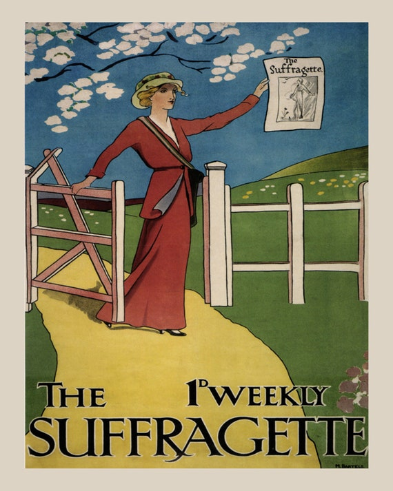 Vote Ballot Box League of Women Voters USA 16X20 Vintage Poster Repro FREE S//H