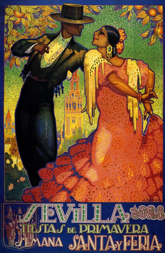 1928 Nice Carnival Poster A3//A4 Print