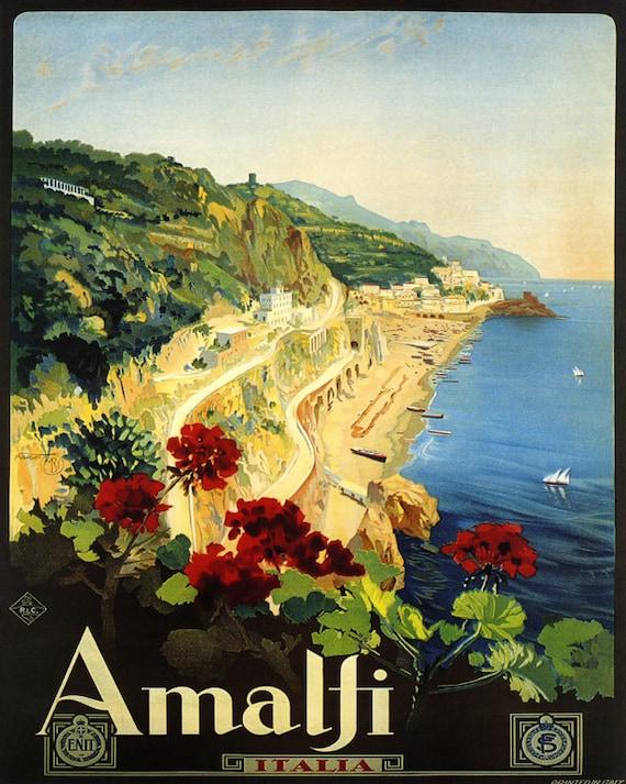 Sicily Sicilia Mediterranean Island Italy Tourism 16X20 Vintage Poster FREE S//H