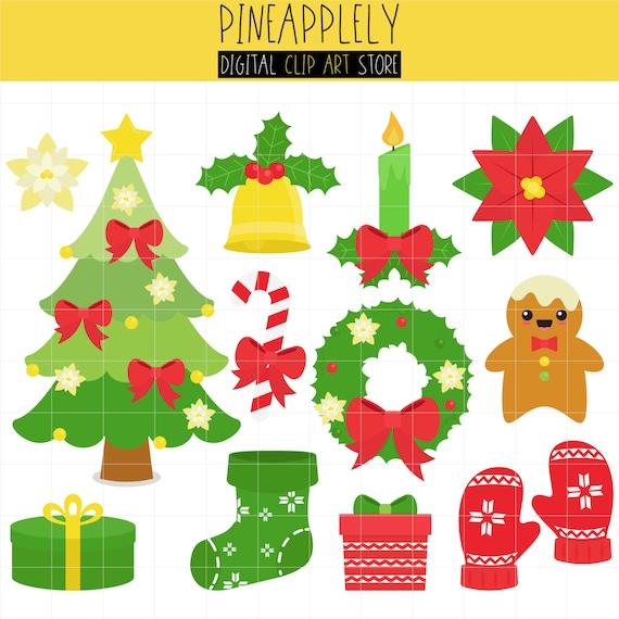 Happy Christmas Holiday Season Christmas Tree Graphics Etsy