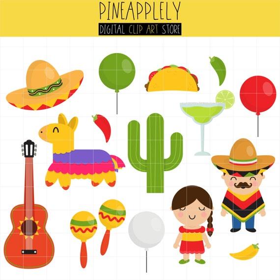 Cinco De Mayo Mexican Holiday Mexican Guitar Pinata Etsy
