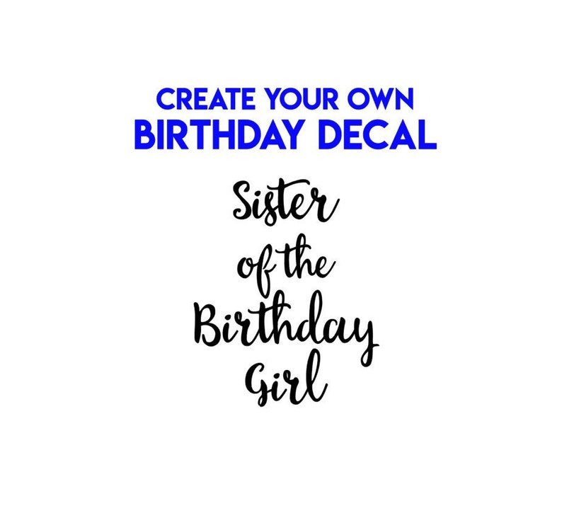 DIY Birthday Shirt Iron On Decals  Heat Transfer Vinyl  Many image 0