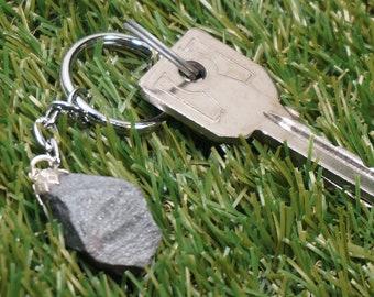 handbag accessory. AMETHYSTE CHAUFFE key door mineral key holder