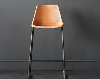 Road House Tan Bar Stool  67 cm floor to seat height