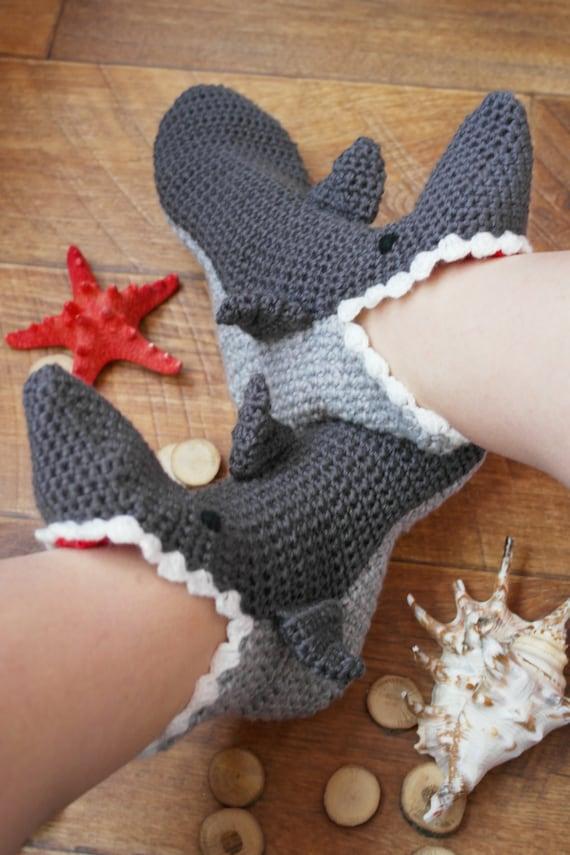 Socks Shark Slippers Womens Slippers for Adult Sizes for  277614b01f