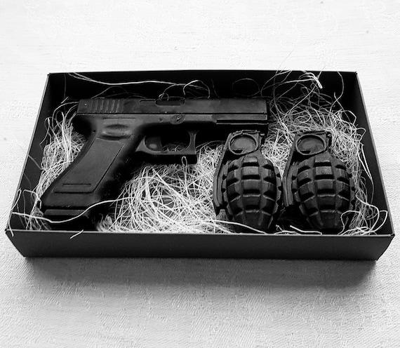 Soap Gift Box Boyfriend Gun Grenade Christmas