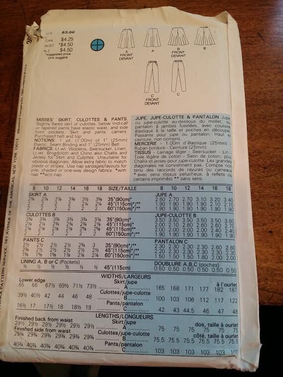 Pattern Pant Suit Butterick pantsuit pattern - image 2