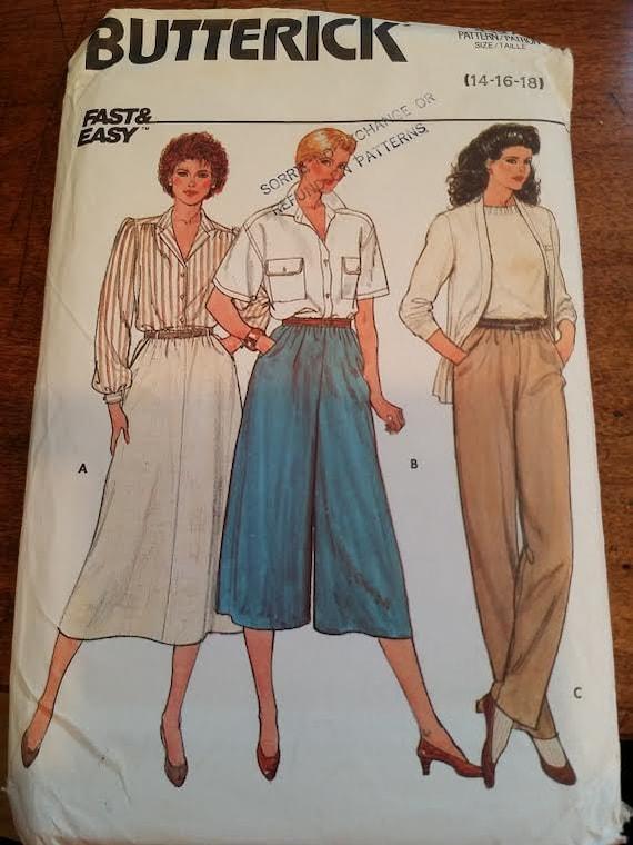 Pattern Pant Suit Butterick pantsuit pattern - image 1
