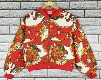 52f43fd94 Chain print jacket | Etsy