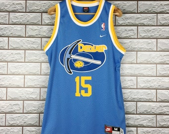 435a46f8 Denver Nuggets Jersey Medium Vintage 90s Nike Carmelo Anthony #15 Nuggets NBA  Jersey Size M