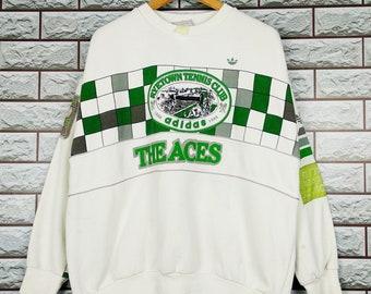 b11450b849eafb ADIDAS Tennis Sweatshirt Vintage Adidas Ryetown Tennis Club Crewneck Size  L XL