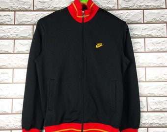 factory authentic 69deb 04e56 NIKE Track Top Medium Vintage 90s Nike Swoosh Japan Track Sweater Jacket S M