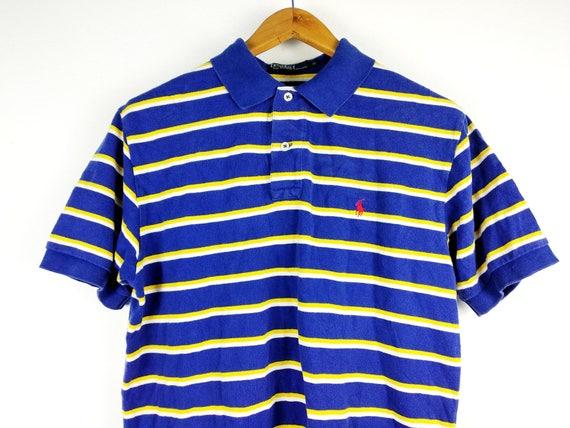 2d1a740aabc030 Vintage Polo Ralph Medium Lauren Pony Rugby T-Shirt Medium Ralph 027e5b ...