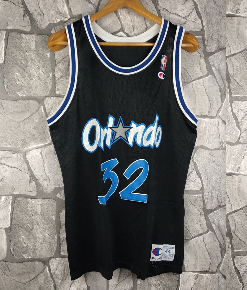 05607aa29511 Vintage 90s Champion Orlando Magic Shaquille O neal s