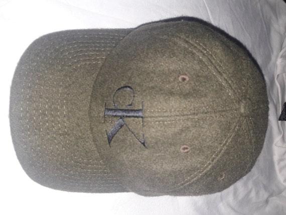 Vintage CK Calvin Klein Snapback Made In Usa Cap Hat  1d5b1c79926
