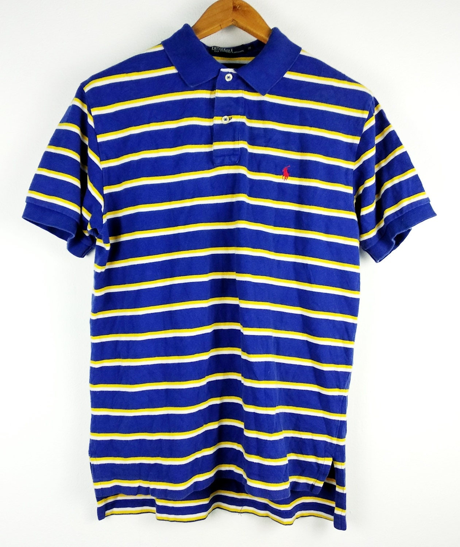 Vintage Polo Ralph Medium Lauren Pony Rugby T-Shirt Medium Ralph 027e5b cc23eae5e009