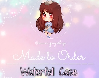 Made To Order: Custom Waterfall Case * please read description *