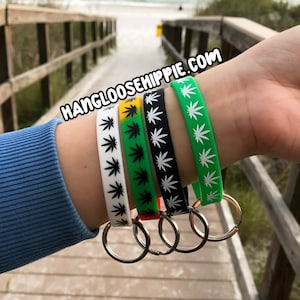 Hippie party favors hippy party favor post smoker gifts weed party favor weed bracelet birthday party favors pot smoker birthday