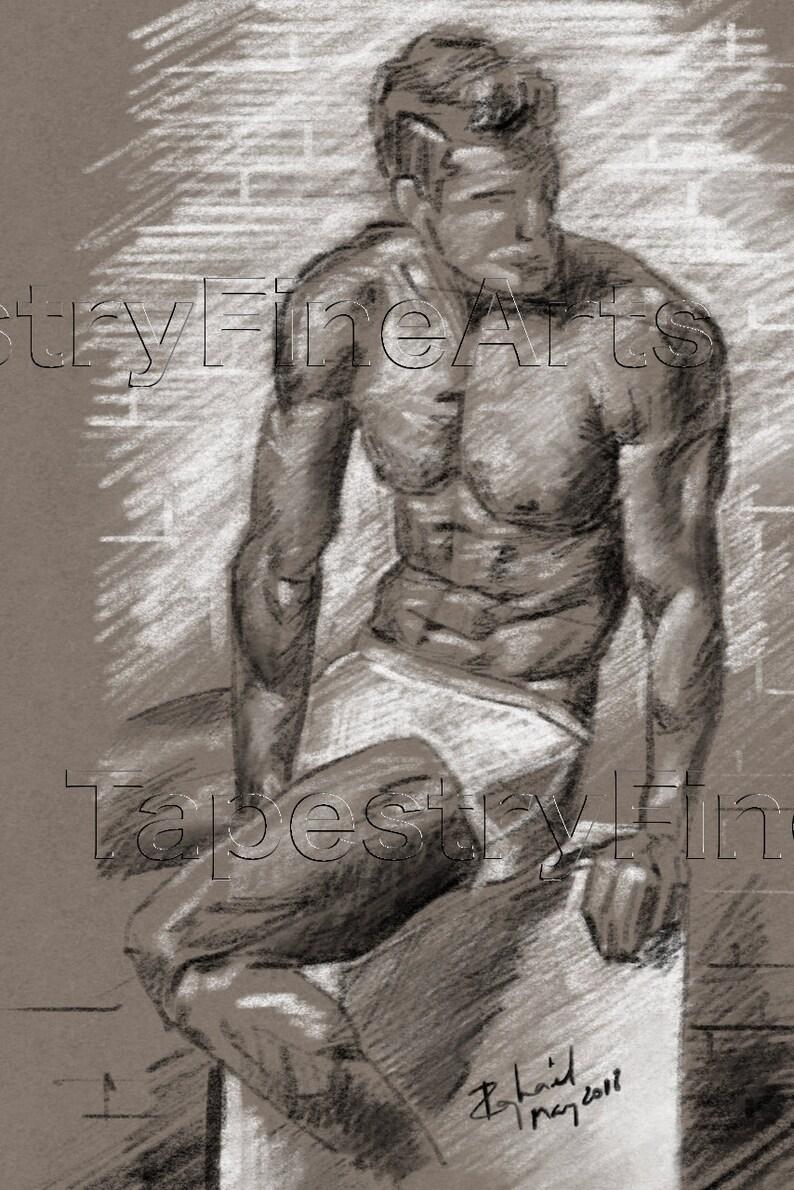 Nude male sketch Nude Photos 40
