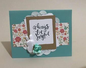always be joyful card