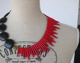 67b8ea70a210c Big bold necklace | Etsy