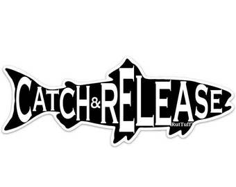 Catch & Release sticker