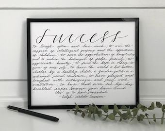 Success Quotes Etsy