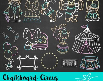 Chalkboard Paris Clipart  Digital Clip Art for Commercial and Personal Use  INSTANT DOWNLOAD