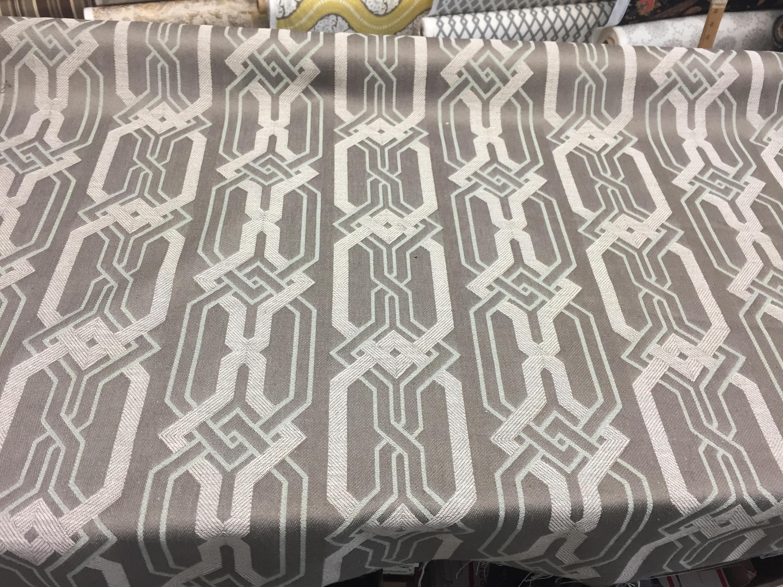 P Kaufmann Swanky Zen Geometric Linen Upholstery Drapery Etsy