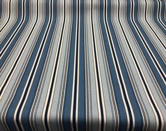 Stitch Stripe Seaside Home Essentials  45 '' Fabric By The Yard