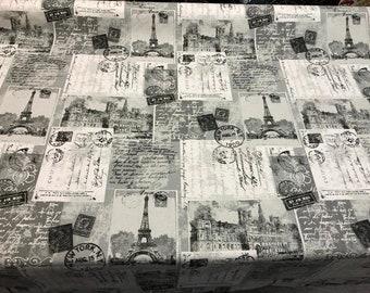 Richloom Studio Multi-purpose Decor Fabric 54''-postcards Grey By The Yard