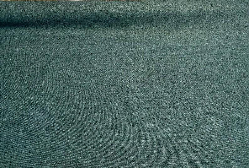 Tarantino Dark Teal Upholstery Chenille Master Fabric By The Yard