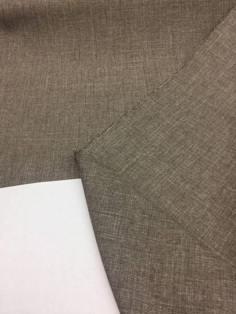 Milo Toast Sonora Denim look Drapery upholstery Multipurpose Fabric by the yard