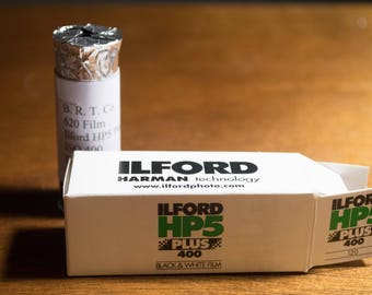 620 Ilford HP5 Plus 400 Black & White Film (Respooled)