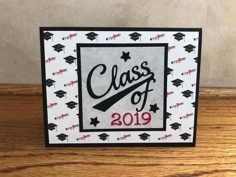 Class of 2019-Graduation Card-Graduation Congratulations-8th Grade  Grad-High School Grad-College Grad-Graduation Card-Graduate Congrats Card