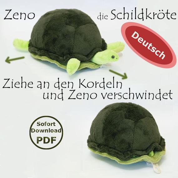 Schildkröte Kuscheltier PDF Schnittmuster und Nähanleitung mit | Etsy