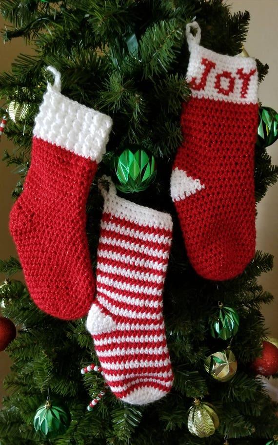 Crochet Pattern Petite Party Christmas Stocking Etsy