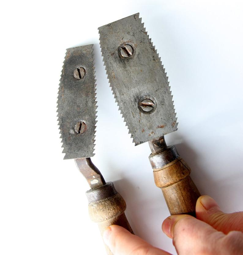 Other The Cheapest Price Par De Peines De Lana,herramientas Antiguos