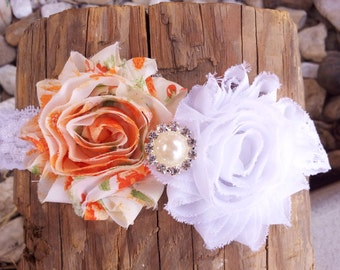 Shabby Chic Headband, Headband Baby, Baby Head Bands,Baby Girl Bows, Headbands For Infants, Children Hair Accessories, Kids Headbands,