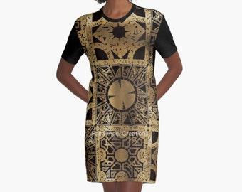 Hellraiser T-Shirt Dress, Lament Configuration Spread, 6 Sizes Available!